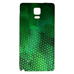 Ombre Green Abstract Forest Galaxy Note 4 Back Case by DanaeStudio
