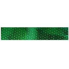 Ombre Green Abstract Forest Flano Scarf (large)  by DanaeStudio