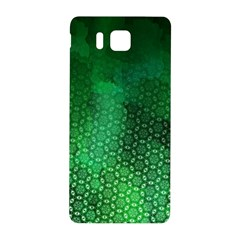 Ombre Green Abstract Forest Samsung Galaxy Alpha Hardshell Back Case