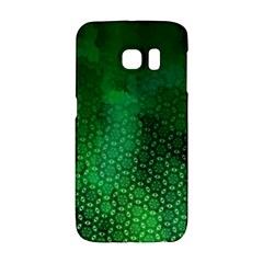 Ombre Green Abstract Forest Galaxy S6 Edge by DanaeStudio
