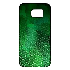 Ombre Green Abstract Forest Galaxy S6 by DanaeStudio