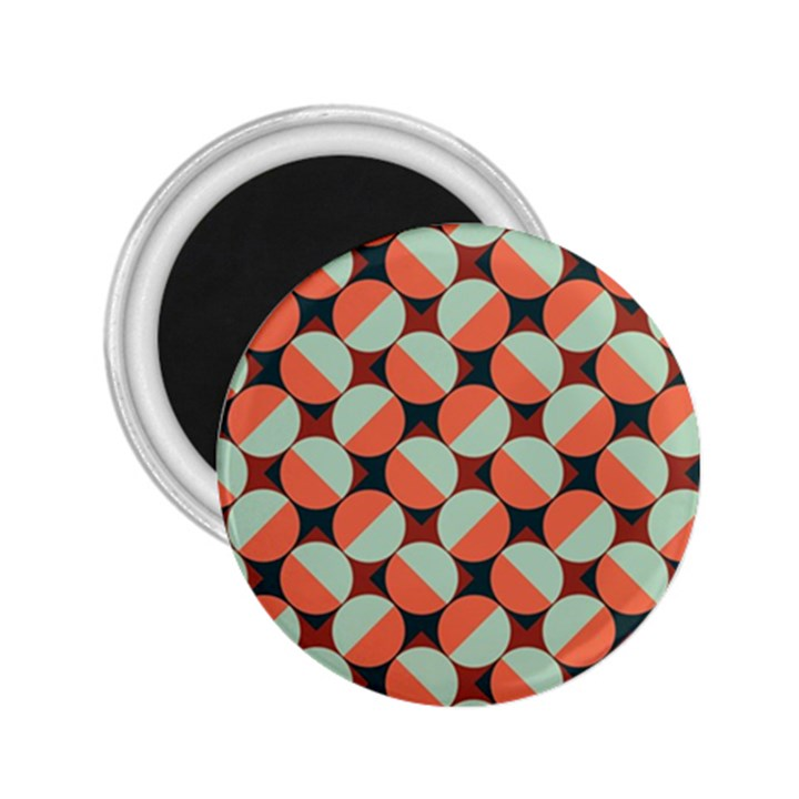 Modernist Geometric Tiles 2.25  Magnets