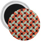 Modernist Geometric Tiles 3  Magnets
