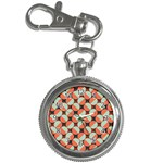 Modernist Geometric Tiles Key Chain Watches