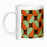Modernist Geometric Tiles Night Luminous Mugs