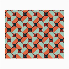 Modernist Geometric Tiles Small Glasses Cloth by DanaeStudio