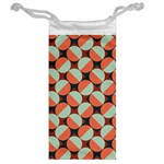 Modernist Geometric Tiles Jewelry Bags Back