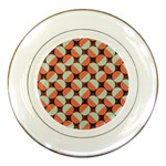 Modernist Geometric Tiles Porcelain Plates