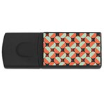 Modernist Geometric Tiles USB Flash Drive Rectangular (4 GB)