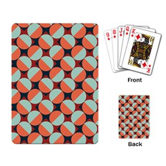 Modernist Geometric Tiles Playing Card by DanaeStudio