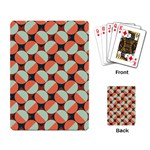 Modernist Geometric Tiles Playing Card