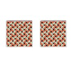 Modernist Geometric Tiles Cufflinks (Square)