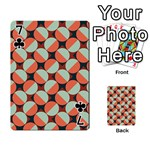 Modernist Geometric Tiles Playing Cards 54 Designs  Front - Club7