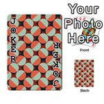 Modernist Geometric Tiles Playing Cards 54 Designs  Front - Joker1