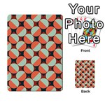Modernist Geometric Tiles Playing Cards 54 Designs  Back