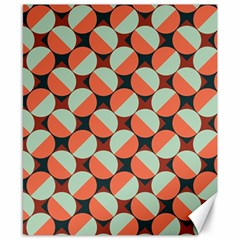 Modernist Geometric Tiles Canvas 8  X 10  by DanaeStudio