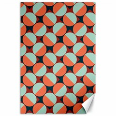 Modernist Geometric Tiles Canvas 24  X 36  by DanaeStudio