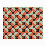Modernist Geometric Tiles Small Glasses Cloth (2-Side)