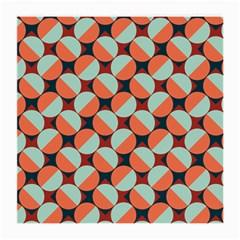 Modernist Geometric Tiles Medium Glasses Cloth