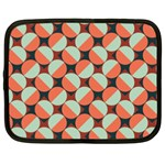 Modernist Geometric Tiles Netbook Case (Large)