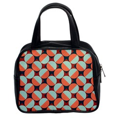 Modernist Geometric Tiles Classic Handbags (2 Sides) by DanaeStudio