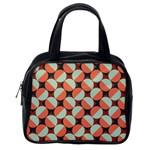 Modernist Geometric Tiles Classic Handbags (2 Sides) Back