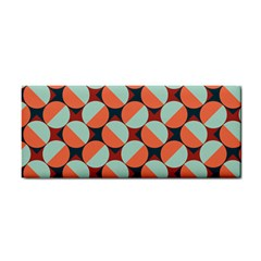 Modernist Geometric Tiles Hand Towel by DanaeStudio