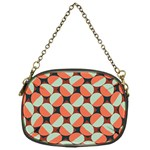 Modernist Geometric Tiles Chain Purses (One Side)