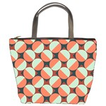 Modernist Geometric Tiles Bucket Bags