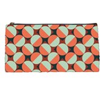 Modernist Geometric Tiles Pencil Cases Front