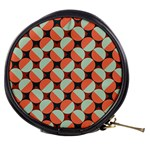 Modernist Geometric Tiles Mini Makeup Bags