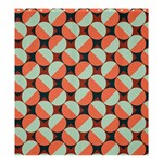 Modernist Geometric Tiles Shower Curtain 66  x 72  (Large)  58.75 x64.8 Curtain