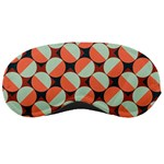 Modernist Geometric Tiles Sleeping Masks
