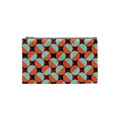 Modernist Geometric Tiles Cosmetic Bag (small)  by DanaeStudio