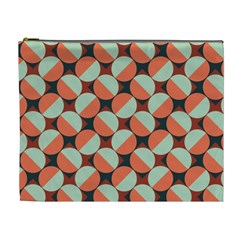 Modernist Geometric Tiles Cosmetic Bag (xl) by DanaeStudio