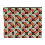 Modernist Geometric Tiles Cosmetic Bag (XL)