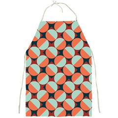Modernist Geometric Tiles Full Print Aprons by DanaeStudio