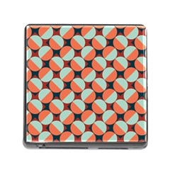 Modernist Geometric Tiles Memory Card Reader (square) by DanaeStudio
