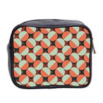 Modernist Geometric Tiles Mini Toiletries Bag 2-Side Back