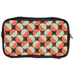 Modernist Geometric Tiles Toiletries Bags
