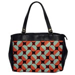 Modernist Geometric Tiles Office Handbags