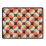 Modernist Geometric Tiles Fleece Blanket (Small) 50 x40 Blanket Front