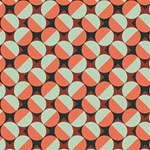 Modernist Geometric Tiles Magic Photo Cubes Side 3