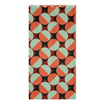 Modernist Geometric Tiles Shower Curtain 36  x 72  (Stall)