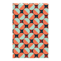 Modernist Geometric Tiles Shower Curtain 48  X 72  (small)