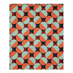 Modernist Geometric Tiles Shower Curtain 60  X 72  (medium)  by DanaeStudio