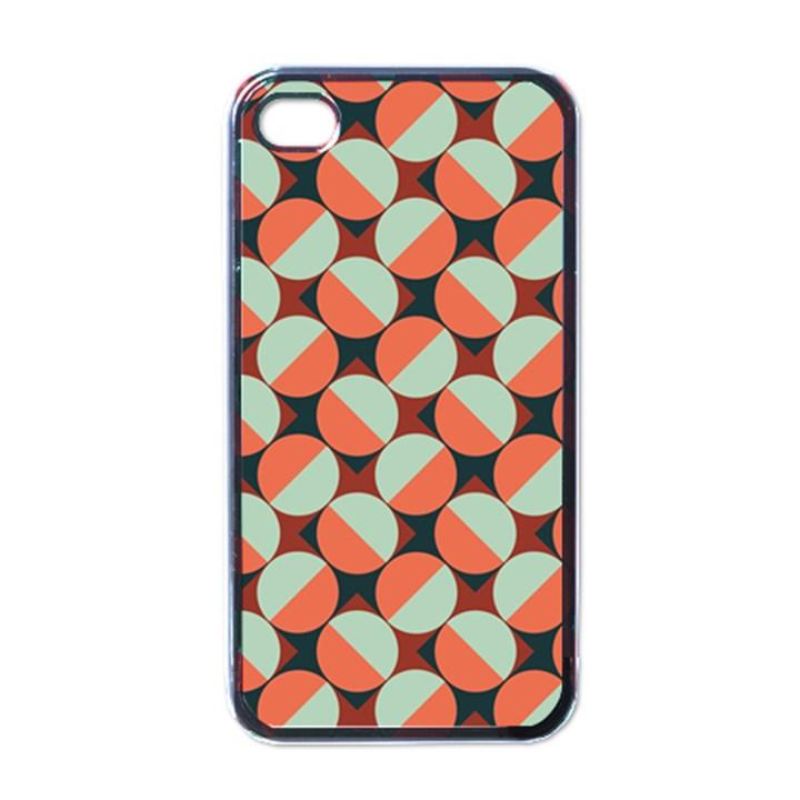 Modernist Geometric Tiles Apple iPhone 4 Case (Black)
