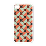 Modernist Geometric Tiles Apple iPhone 4 Case (White)