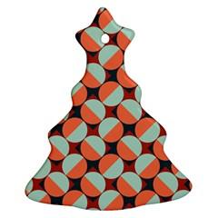 Modernist Geometric Tiles Ornament (Christmas Tree)