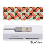 Modernist Geometric Tiles Memory Card Reader (Stick)